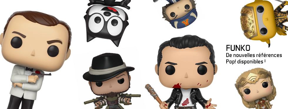 figurine De nouvelles références Pop! disponibles !