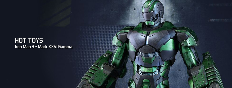 figurine Iron Man 3 - Mark XXVI Gamma