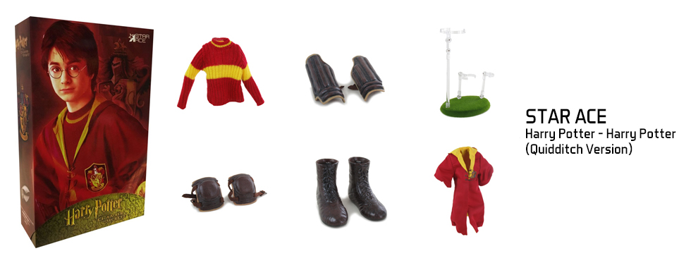 figurine Harry Potter - Harry Potter (Quidditch Version)