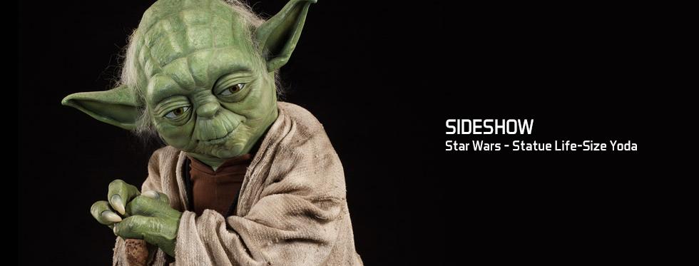 figurine Star Wars - Statue Life-Size Yoda