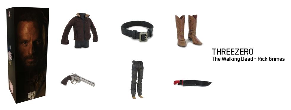 figurine The Walking Dead - Rick Grimes