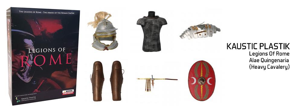 figurine Legions Of Rome - Alae Quingenaria (Heavy Cavalery)