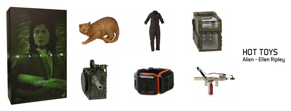 figurine Alien - Ellen Ripley