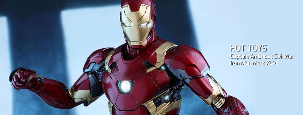 figurine Captain America : Civil War - Iron Man Mark XLVI