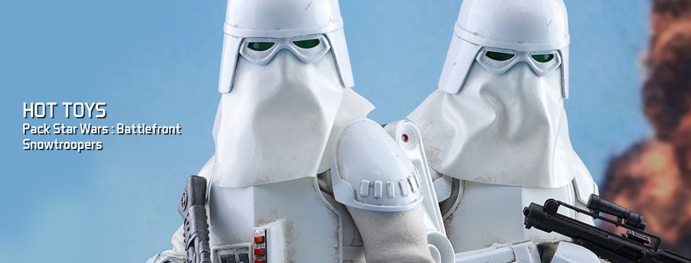 figurine Pack Star Wars : Battlefront - Snowtroopers