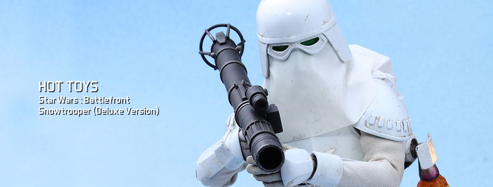 figurine Star Wars : Battlefront - Snowtrooper (Deluxe Version)