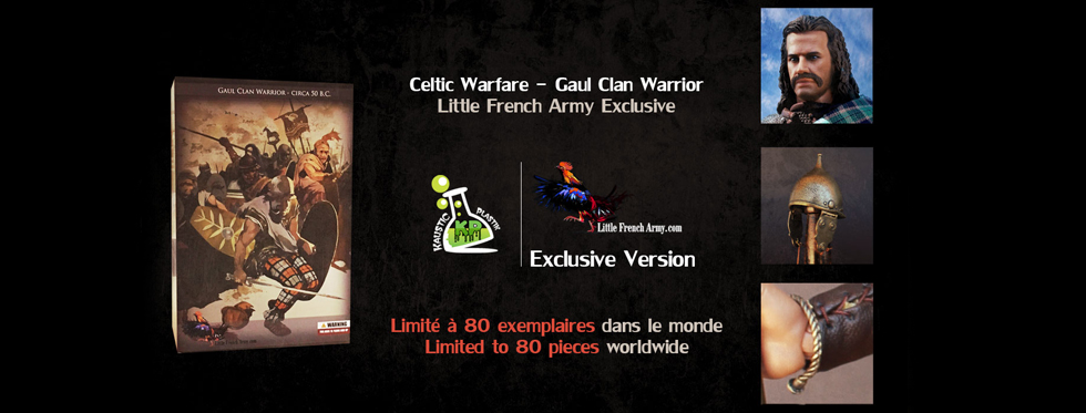figurine Celtic Warfare - Gaul Clan Warrior (Little French Army Exclusive)