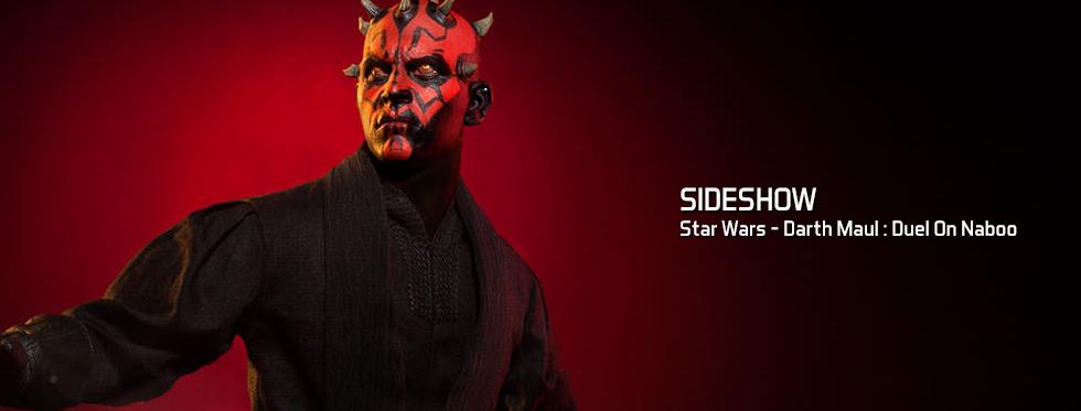 figurine Star Wars - Darth Maul : Duel On Naboo