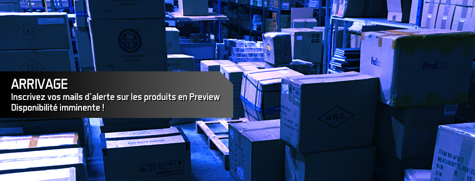 figurine Inscrivez vos mails d\'alerte sur les produits en Preview, disponibilité imminente !