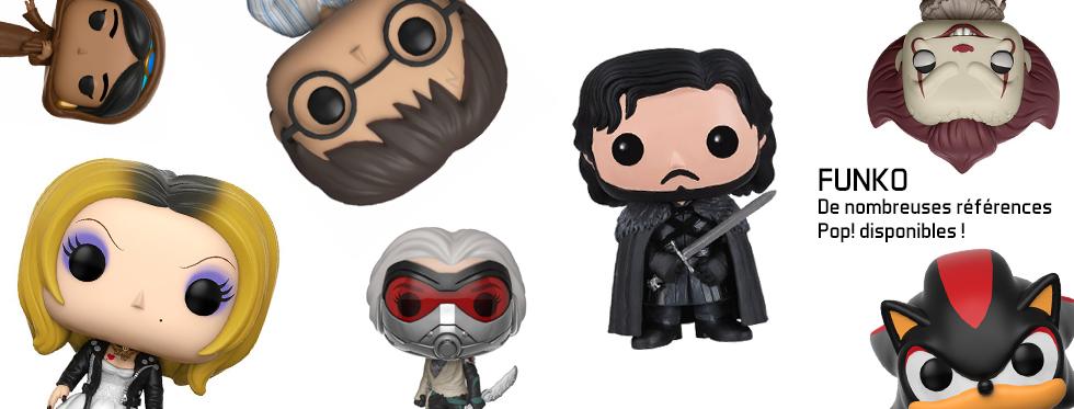 figurine De nombreuses références Pop! disponibles !