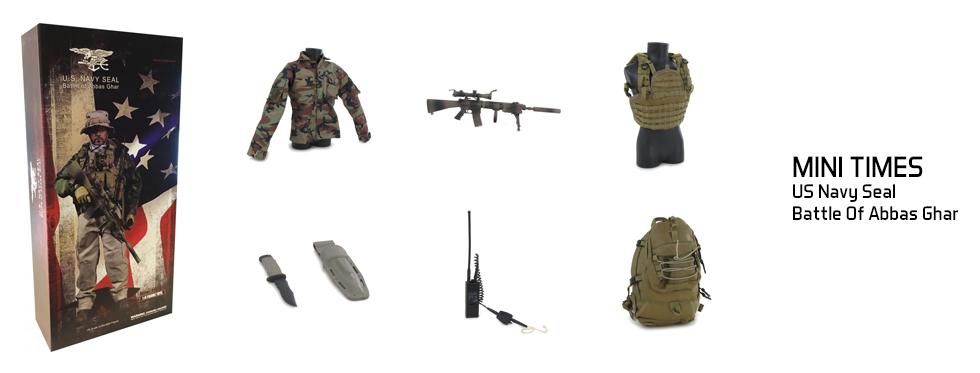figurine US Navy Seal - Battle Of Abbas Ghar