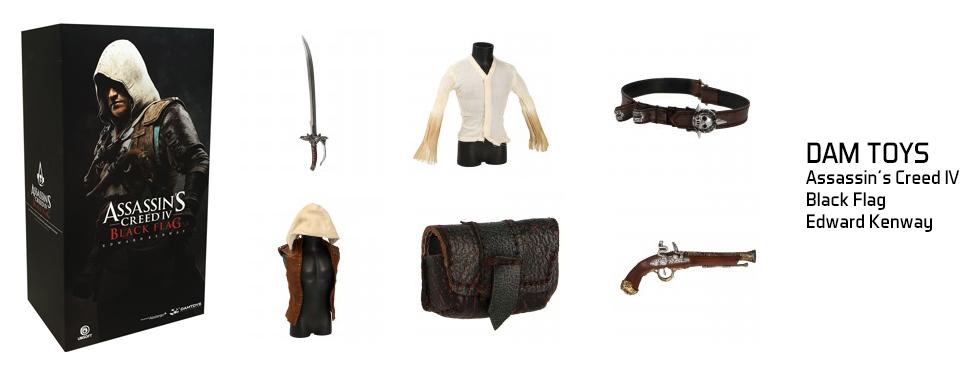 figurine Assassin's Creed IV : Black Flag - Edward Kenway