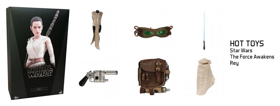 figurine Star Wars : The Force Awakens - Rey