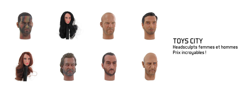 figurine Headsculpts femmes et hommes à des prix incroyables !