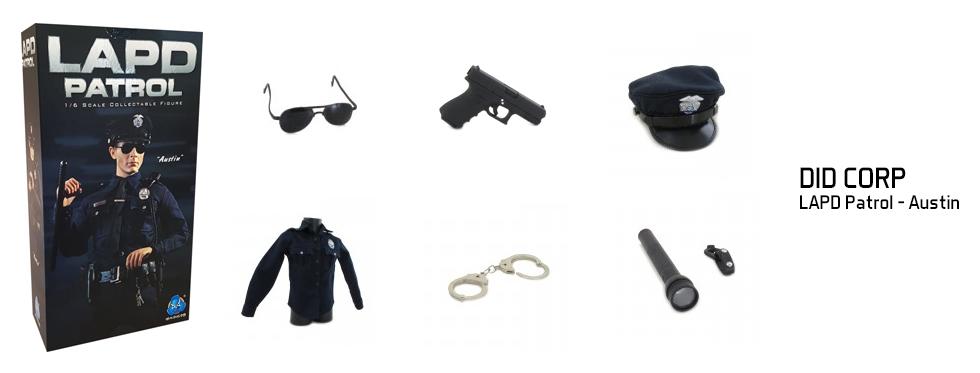 figurine LAPD Patrol - Austin