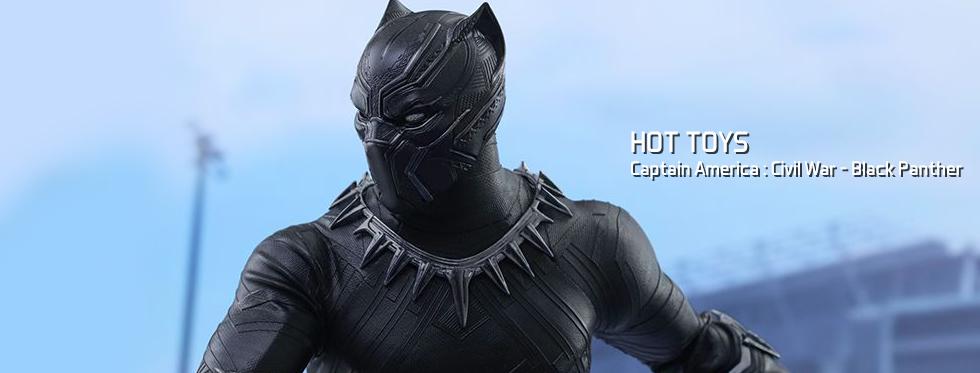 figurine Captain America : Civil War - Black Panther