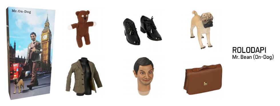 figurine Mr. Bean (On-Dog)