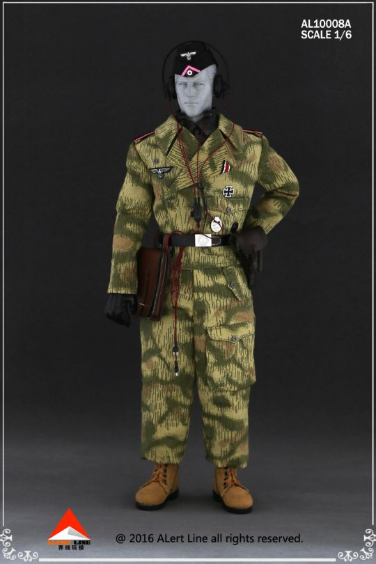 Set Wehrmacht and SS Tank Crew Overalls (Type A)