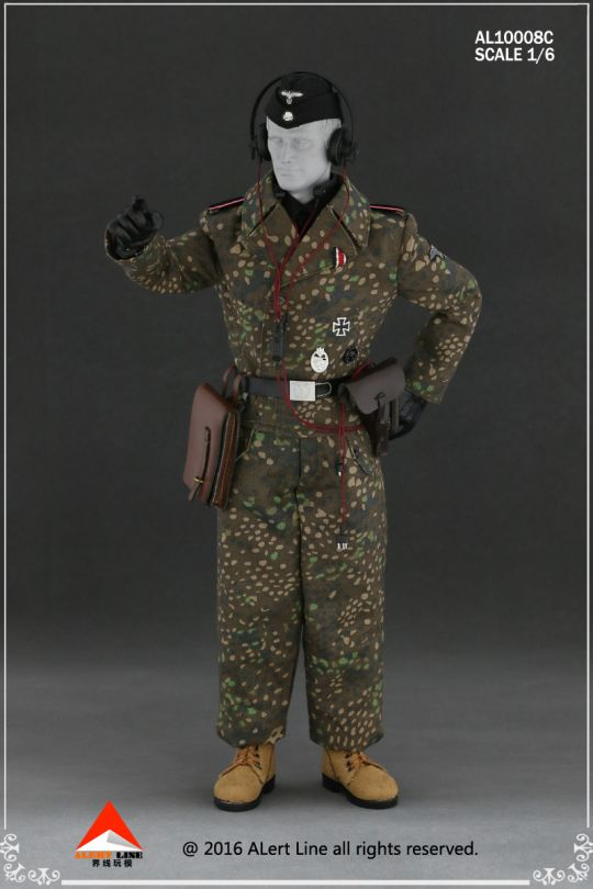 Set Wehrmacht and SS Tank Crew Overalls (Type C)