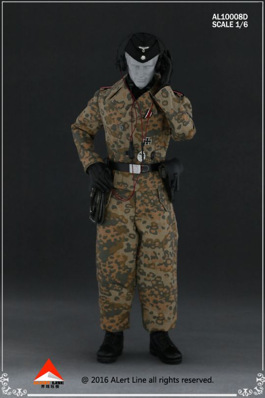 Set Wehrmacht and SS Tank Crew Overalls (Type D)