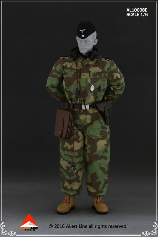 Set Wehrmacht and SS Tank Crew Overalls (Type E)