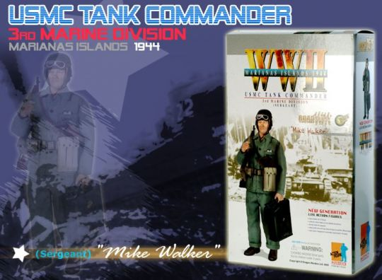Mike Walker USMC Tank Commander