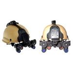 Desert helmet w/ NVG & Mt
