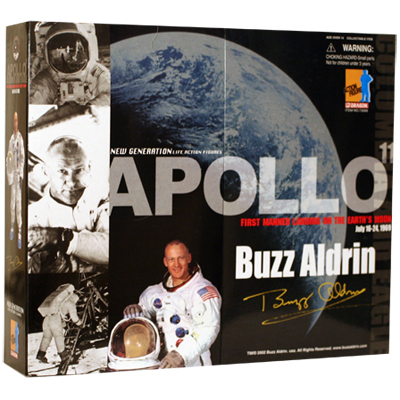 buzz aldrin nasa apollo boite double