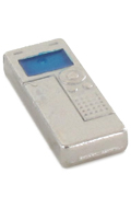 Die Cast Voice Recorder (Silver)