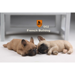 Set chiens French Bulldog (Marron)