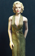 Gentlemen Prefer Blondes - Marilyn Monroe as Lorelei Lee (Gold Version)