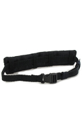 Quick Release Belt with Molle Plate (Black)