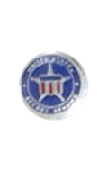 Secret Service Badge (Blue)