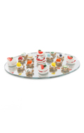 Hors d'oeuvres Mirror Tray