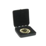 Médaille en métal du prix Nobel avec coffret (Noir)