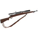 Springfield M1903 sniper rifle with Unertl scope