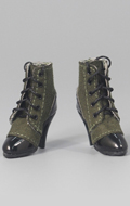 Female Heeled Shoes (Olive Drab)