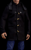 Medium Duffle Coat Set (Black)