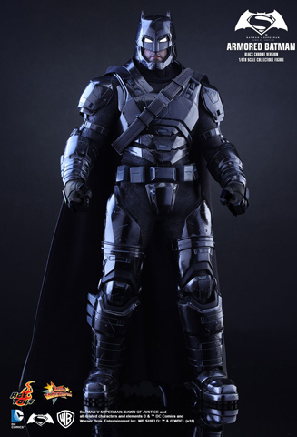 Batman V Superman : Dawn Of Justice - Armored Batman (Black Chrome Version)