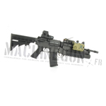 M4 rifle & M203 w/ EO tech 551 & PEQ 15