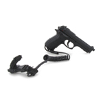 M9 Beretta Pistol with Lanyard (Black)