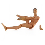 Hot Toys nude body right ankle broken