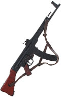 Diecast Sturmgewehr MP44 Assault Rifle (Black)
