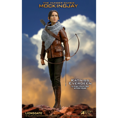 figurine 16 the hunger games catching fire katniss