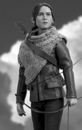 The Hunger Games : Catching Fire - Katniss Everdeen (Hunting Outfit Version)