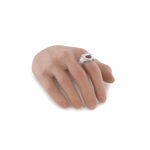 Caucasian Male Right Hand with Ring (Type A)