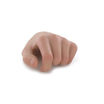 Main gauche homme européen (Type C)