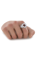 Caucasian Male Right Hand with Ring (Type C)
