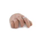 Caucasian Male Right Hand with Ring (Type E)