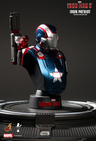Iron Man 3 - Iron Patriot Bust